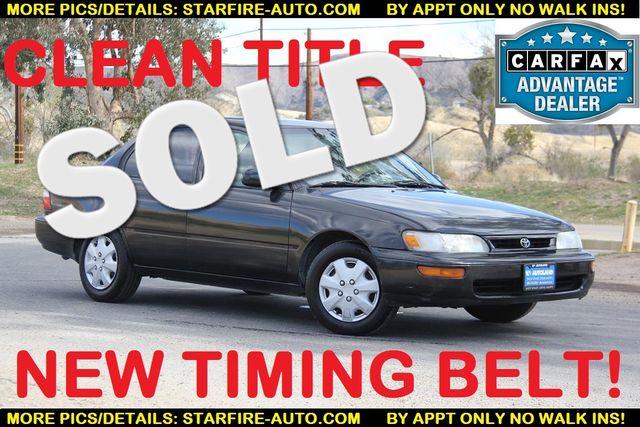 1997 Toyota Corolla Base | Santa Clarita, CA | Starfire Auto Inc