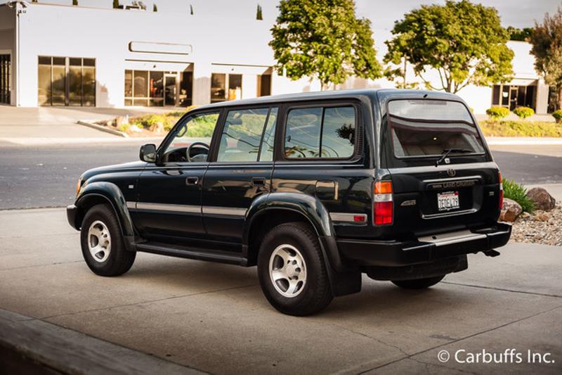 1997 Toyota Land Cruiser 4x4 Collectors Edition   Concord, CA   Carbuffs in Concord, CA