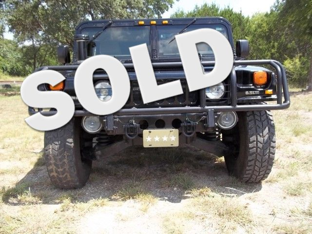 1998 Am General Hummer Liberty Hill, Texas