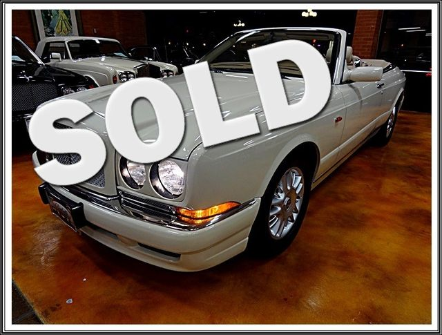1998 Bentley Azure Turbo R Full Service Only 24000 Miles San Diego, California 0