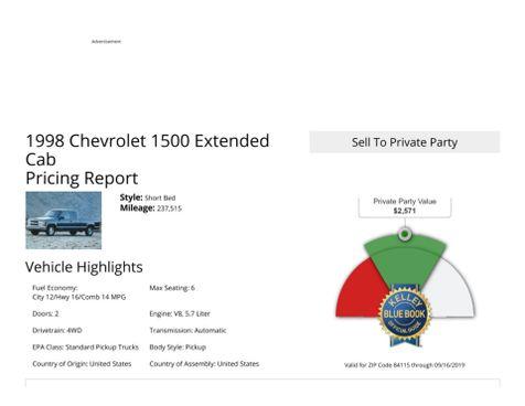 1998 Chevrolet C/K 1500  in Salt Lake City, UT