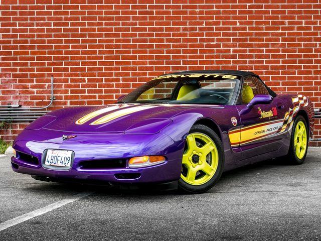 1998 Chevrolet Corvette PACE CAR PACKAGE Burbank, CA 1