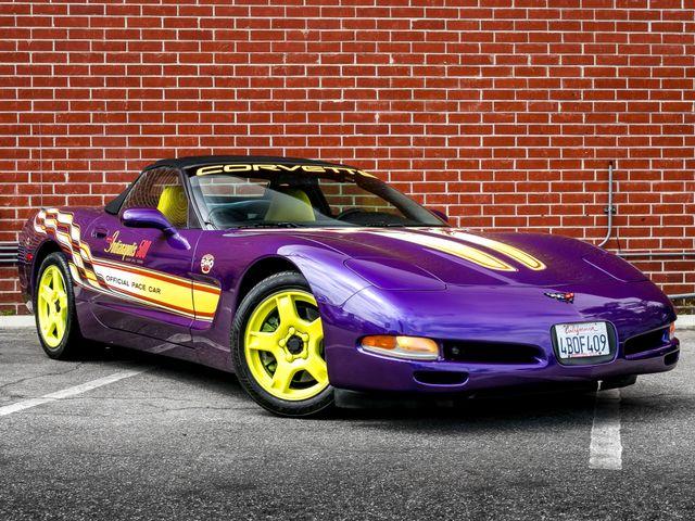 1998 Chevrolet Corvette PACE CAR PACKAGE Burbank, CA 2