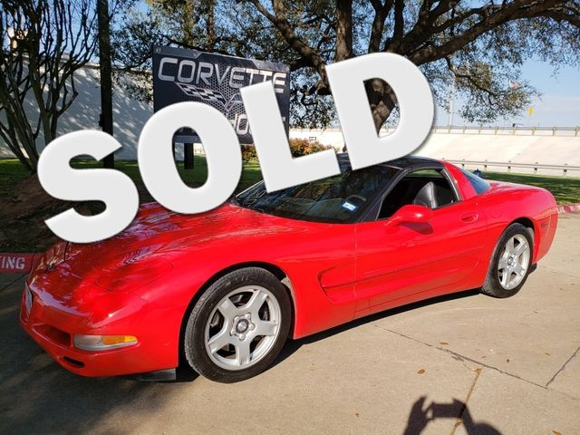 1998 Chevrolet Corvette Coupe 6-Speed, Borla Exhaust, Alloy Wheels 85k! | Dallas, Texas | Corvette Warehouse  in Dallas Texas