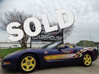 1998 Chevrolet Corvette Convertible Indy Pace Car, Only 83k Miles!!   Dallas, Texas   Corvette Warehouse  in Dallas Texas