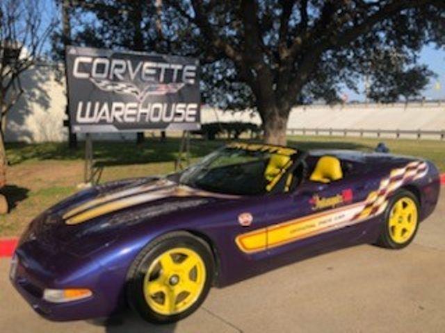 1998 Chevrolet Corvette Convertible Indy Pace Car, Only 83k Miles!! | Dallas, Texas | Corvette Warehouse  in Dallas Texas