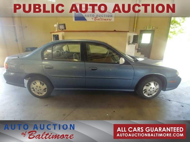 1998 Chevrolet Malibu    JOPPA, MD   Auto Auction of Baltimore  in JOPPA MD