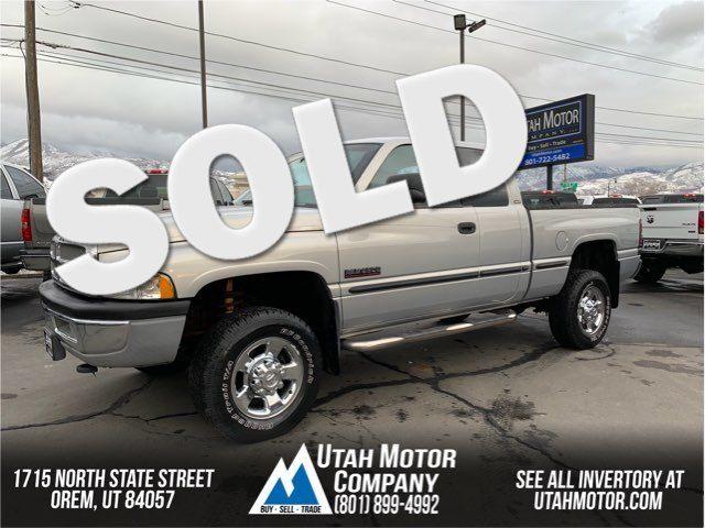 1998 Dodge Ram 2500 SLT | Orem, Utah | Utah Motor Company in  Utah