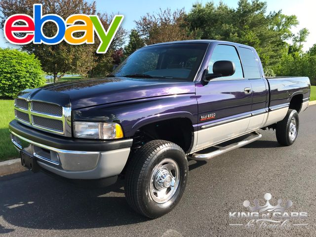 1998 Dodge Ram 2500 Slt Quad CAB 5SPD MANUAL 53K MILE 12V CUMMINS 4X4