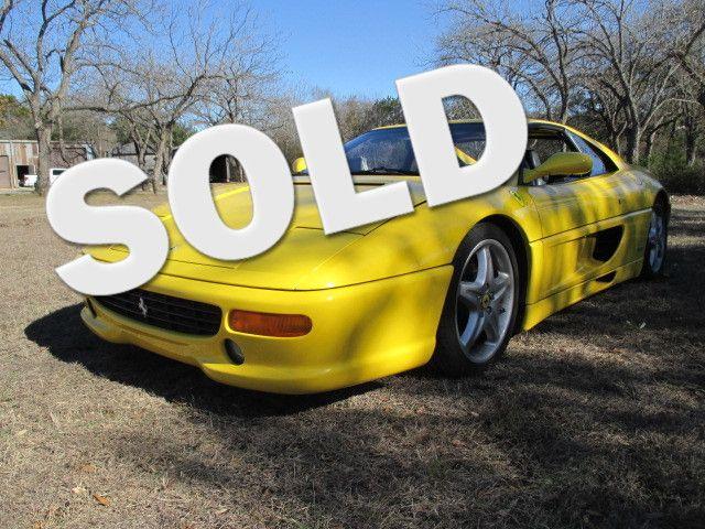 1998 Ferrari 355 F1 GTS Targa Liberty Hill, Texas