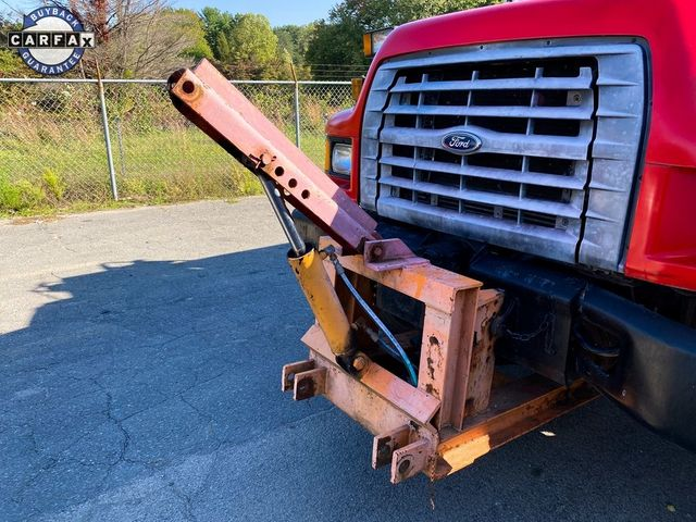 1998 Ford F-750SD Dump Truck Madison, NC 54