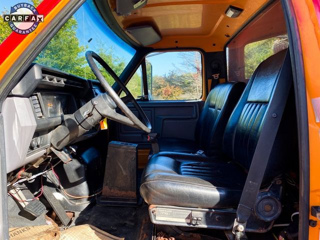1998 Ford F-750SD Dump Truck Madison, NC 80