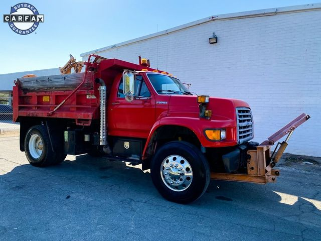 1998 Ford F-750SD Dump Truck Madison, NC 14