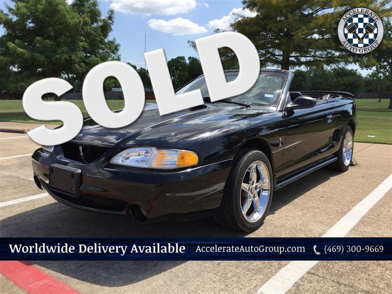 1998 Ford Mustang SVT Cobra ONLY 31,688 MILES- NICE!!! in Rowlett Texas