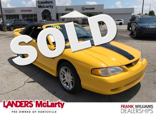 1998 Ford Mustang GT | Huntsville, Alabama | Landers Mclarty DCJ & Subaru in  Alabama