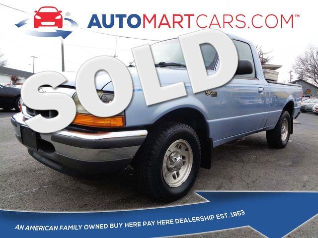 1998 Ford Ranger XLT | Nashville, Tennessee | Auto Mart Used Cars Inc. in Nashville Tennessee