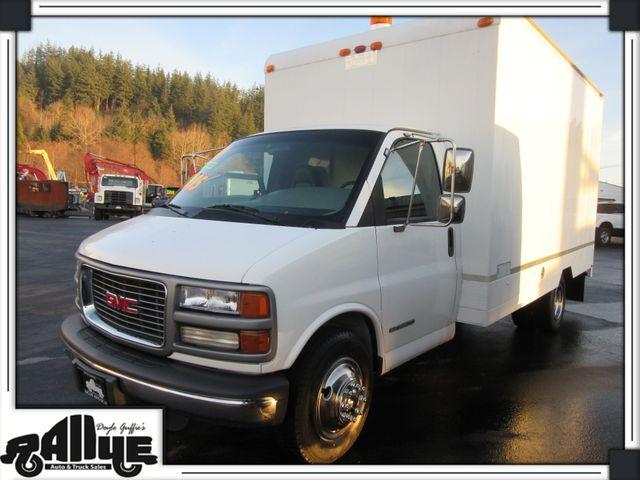1998 GMC Savana 14FT Cube Van