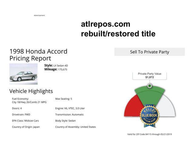 1998 Honda Accord EX Salt Lake City, UT