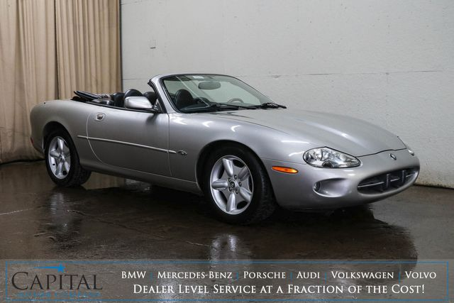1998 Jaguar XK8 Convertible V8 Sports Car w/Power Top, Heated Power Seats and Harman/Kardon Audio