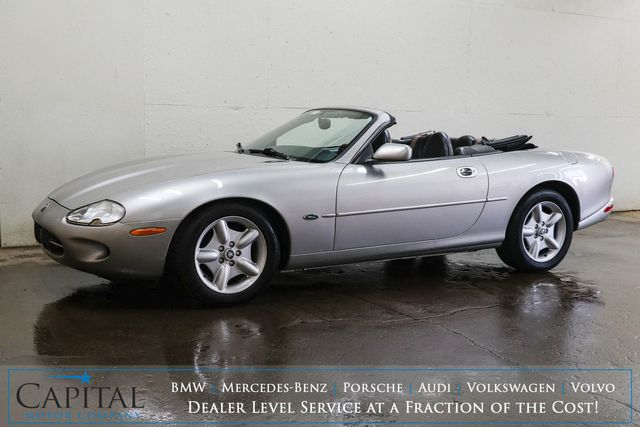 1998 Jaguar XK8 Convertible V8 Sports Car w/Power Top, Heated Power Seats and Harman/Kardon Audio in Eau Claire, Wisconsin 54703
