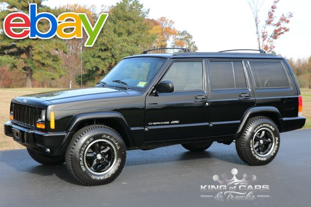 1998 Jeep Cherokee Classic Xj 96K ORIGINAL MILES 1-OWNER GARAGED 4X4 in Woodbury New Jersey, 08096