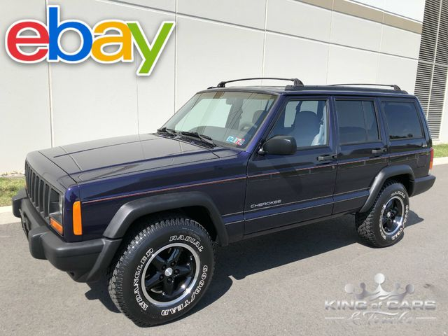 1998 Jeep Cherokee Sport XJ 73K MILES 4X4 RARE PURPLE ONE OF A KIND