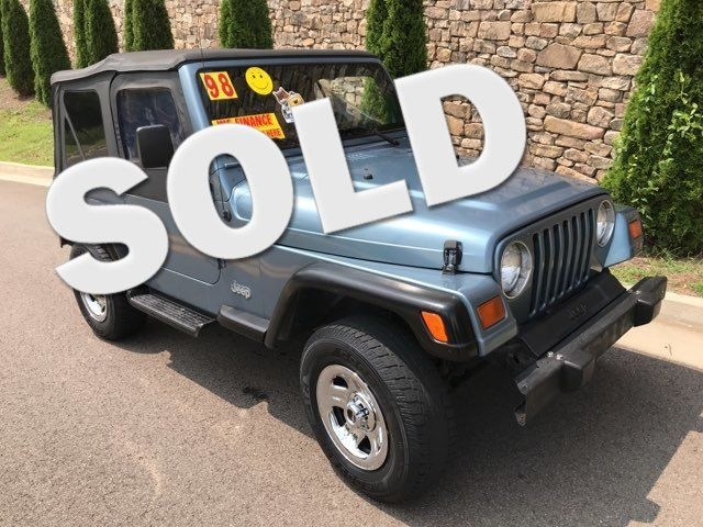 1998 Jeep Wrangler SE Knoxville, Tennessee