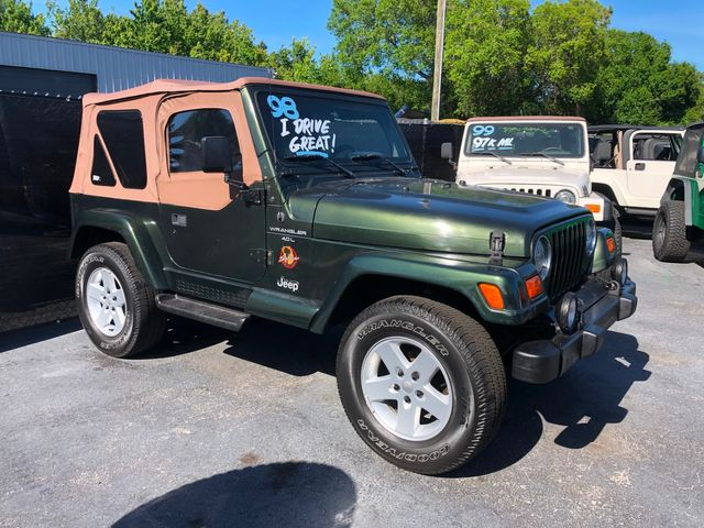 1998 Jeep Wrangler Sahara in Riverview, FL 33578