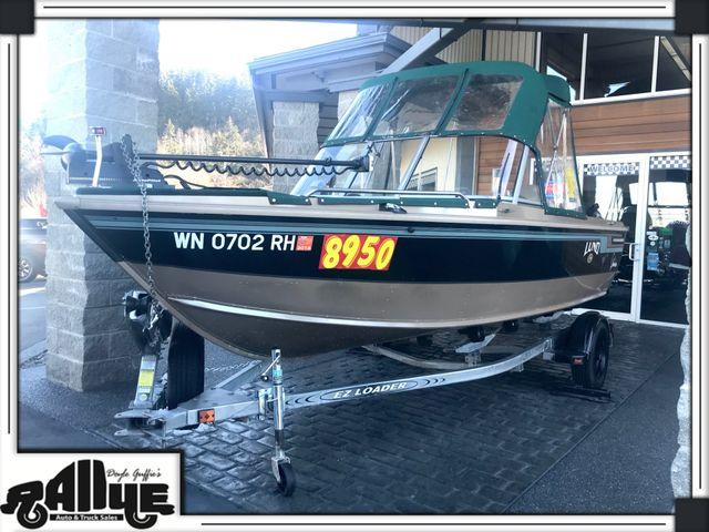 1998 Lund 1700 Pro Sport 17ft Boat in Burlington, WA 98233