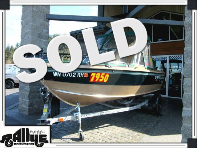 1998 Lund 1700 Pro Sport 17ft Boat