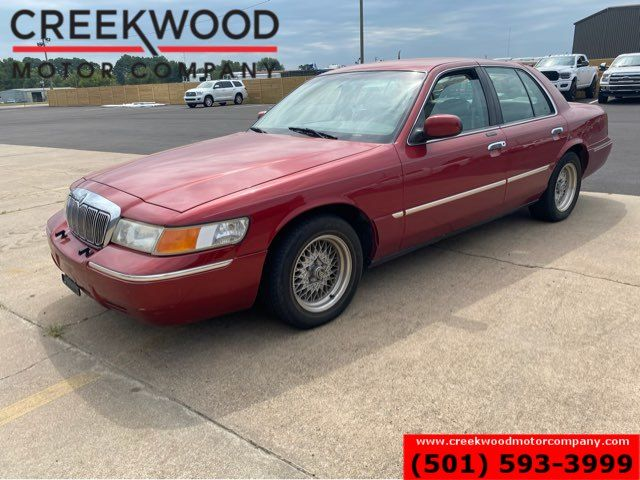 1998 Mercury Grand Marquis LS 4.6L V8 LOW MILES Maroon New Tires Leather NICE