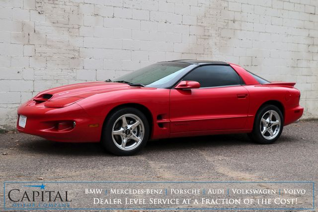1998 Pontiac Firebird Formula WS6 Coupe w/T-Tops, Ram Air Hood & Performance Pkg and Only 19k Miles in Eau Claire, Wisconsin 54703