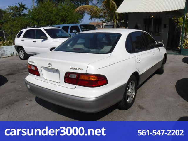 1998 Toyota Avalon XLS Lake Worth , Florida 3