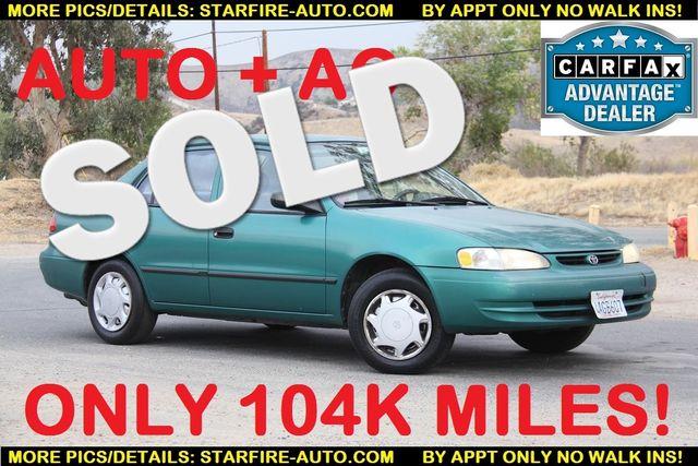 1998 Toyota Corolla VE Santa Clarita, CA
