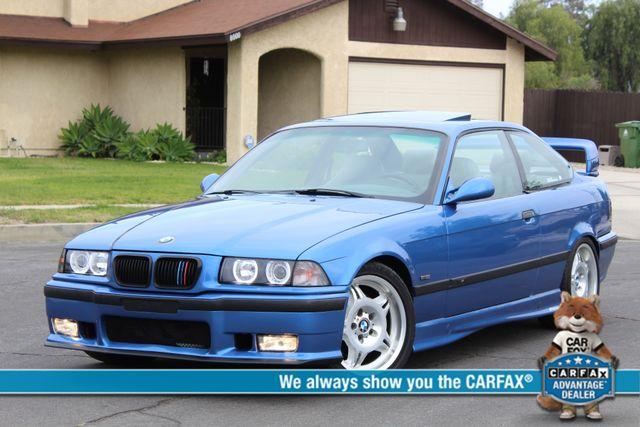 1999 BMW M Models M3 COUPE MANUAL RARE ESTORIL BLUE LTW WHLS SERVICE RECORDS