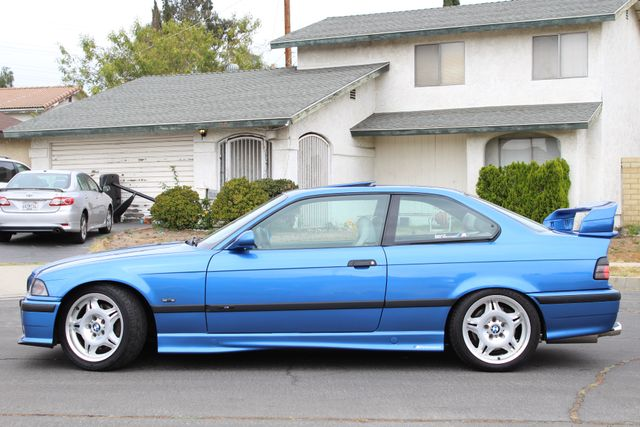 1999 BMW M Models M3 COUPE MANUAL RARE ESTORIL BLUE LTW WHLS SERVICE RECORDS in Van Nuys, CA 91406