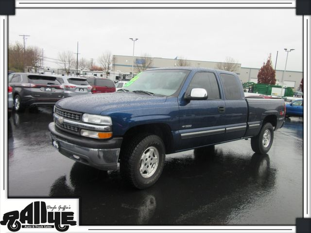 1999 Chevrolet 1500 Silverado Z71 Q/Cab 4WD in Burlington WA, 98233