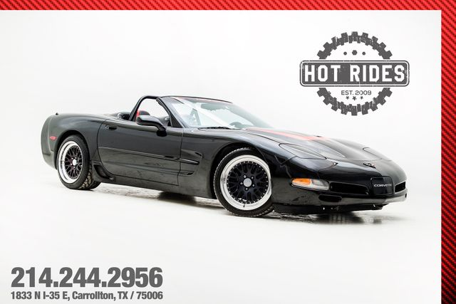 1999 Chevrolet Corvette Show Car With Many Upgrades