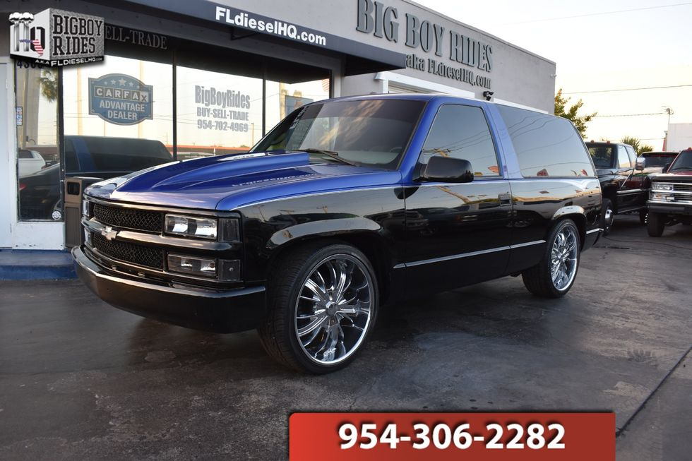 1999 Chevrolet Tahoe Custom 2 Door Fort Lauderdale Fl Big Boy Rides