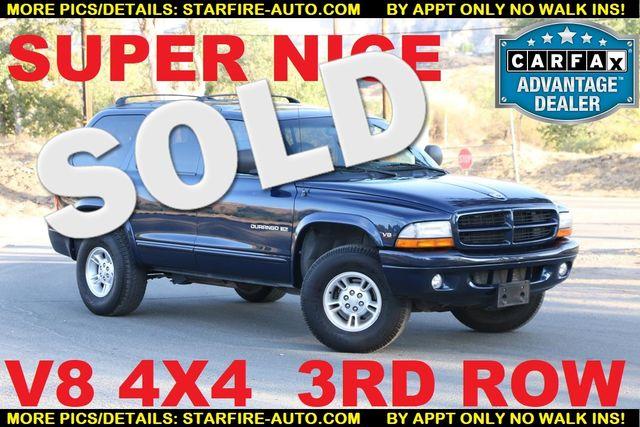 1999 Dodge Durango 4x4 3RD ROW Santa Clarita, CA
