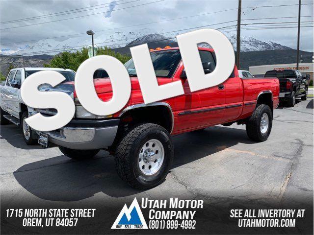 1999 Dodge Ram 2500  | Orem, Utah | Utah Motor Company in  Utah