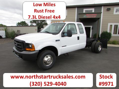 1999 Ford F-350 4x4 7.3 Cab Chassis  in St Cloud, MN