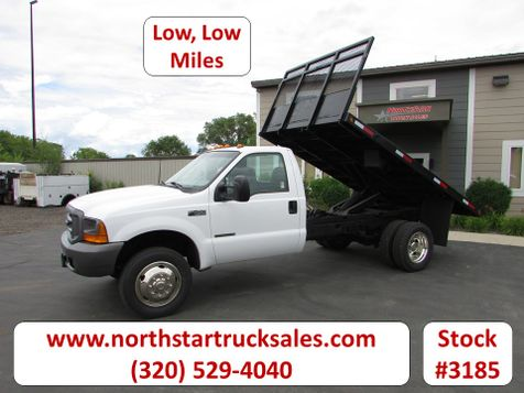 1999 Ford F-450 Flat Bed Dump Truck  in St Cloud, MN