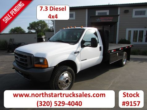 1999 Ford F-550 4x4 Flat Bed Truck  in St Cloud, MN
