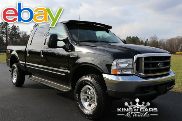 1999 Ford F250 Lariat Crew 7.3L DIESEL 6-SPEED MANUAL LOW MILES 4X4