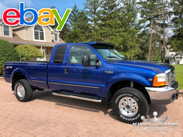 1999 Ford F350 7.3l Diesel 4X4 MANUAL 1-OWNER XLT ONLY 38K MILES WOW