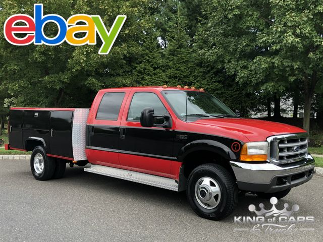 1999 Ford F350 Crew 6.8l V10 STAHL UTILITY SERVICE 35K MILES 1-OWNER in Woodbury, New Jersey 08096