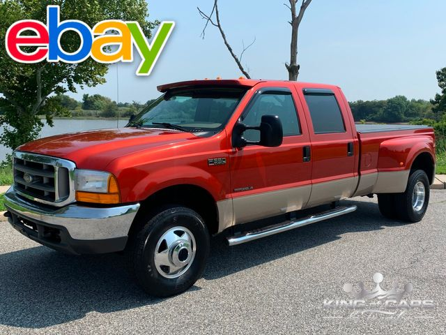 1999 Ford F350 Lariat Drw CREW CAB 4X4 7.3 TURBO DIESEL RARE in Woodbury, New Jersey 08093
