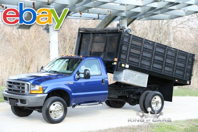 1999 Ford F550 Stakebody Dump 7.3L DIESEL 41K ORIGINAL MILES 1-OWNER