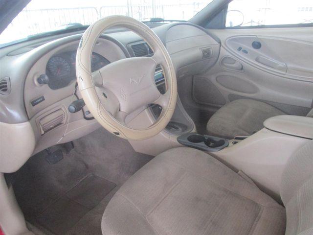 1999 Ford Mustang Gardena, California 4